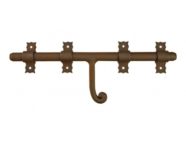 1890 Galbusera Horizontal Bolt Wrought Iron Different Size