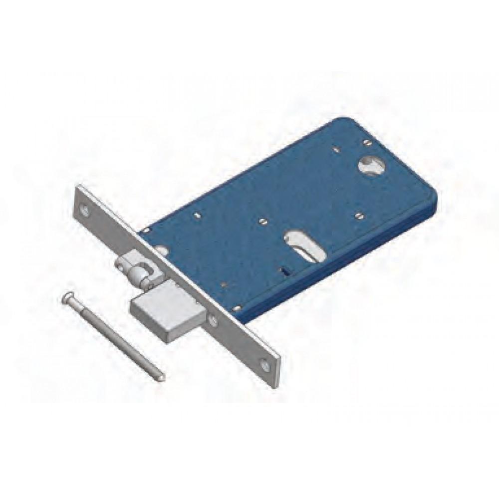 Adjustable roller and deadbolt Omec Art. 375 / F22