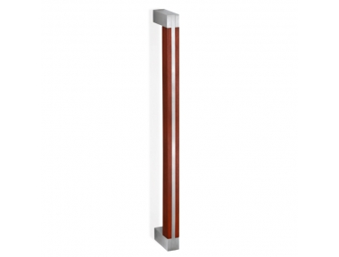 200.YOD.201 pba Pull Handle Wood and Stainless Steel AISI 316L