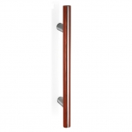 200.YOD.311 pba Pull Handle Wood and Stainless Steel AISI 316L