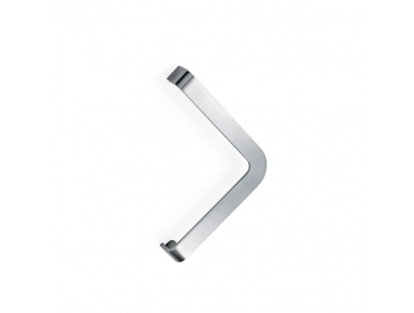 200P-031 pba Pull handle in stainless steel with flat profile