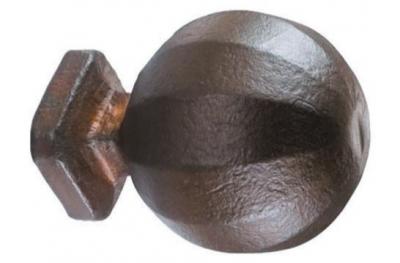 2080 Ø60 Door Knob Wrought Iron
