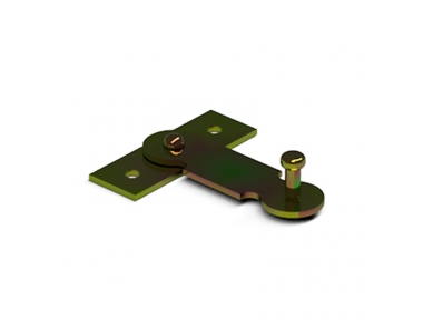 20/23 CiFALL Flat Hatch Lock With Support Iron Hardware For Shutters