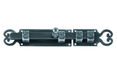 2118 Galbusera Horizontal Bolt Wrought Iron Different Size