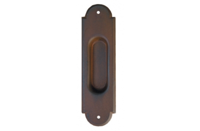 2128 Galbusera Sliding Door Pull Wrought Iron