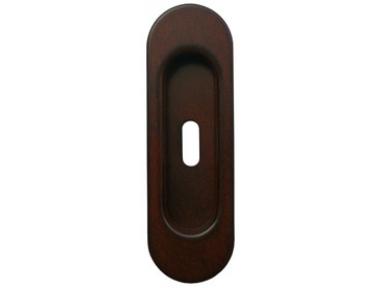 2131 Galbusera Sliding Door Pull Wrought Iron