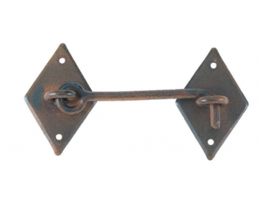 2132 Galbusera Cabin Hook Wrought Iron Different Size