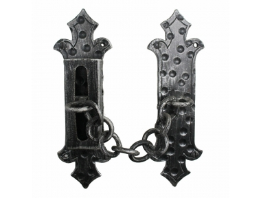 2156 Wrought Iron Handmade Security Chain for Doors Lorenz Ferart
