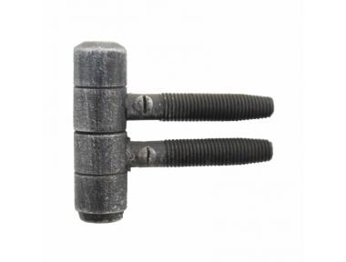 2169 Screw Hinge Handmade in Wrought Iron for Doors and Windows Lorenz Ferart