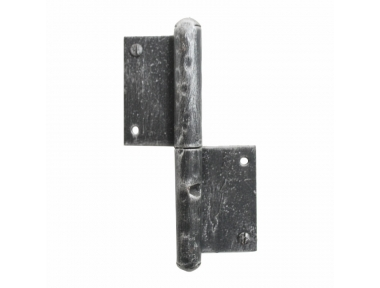 2176 French Hinge Handmade in Wrought Iron for Doors and Windows Lorenz Ferart