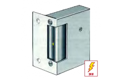 21KL Electric Strike Door with Permanent Release with Plate Short Flat effeff