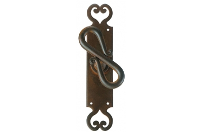 2203 Rome Galbusera Cremone Bolt Window Handle Wrought Iron