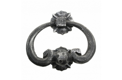 2270 Wrought Iron Knocker for Doors Lorenz Ferart