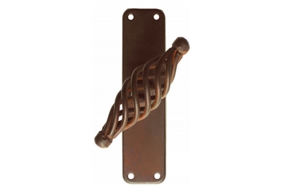 2804 Budapest Galbusera Window Handle Wrought Iron