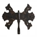 3006 Wrought Iron Double Hinge for Furniture Lorenz Ferart
