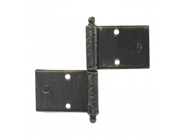 3059 Wrought Iron Double Hinge for Furniture Lorenz Ferart