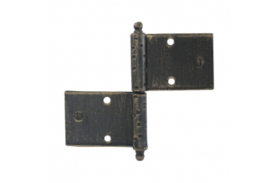 3059 Wrought Iron Double Hinge for Furniture Lorenz Ferart