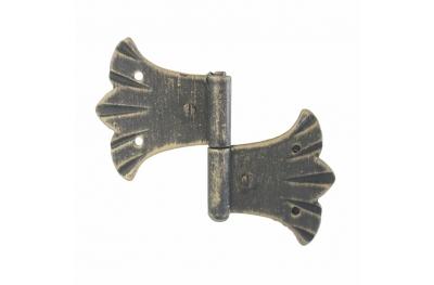 3062 Wrought Iron Double Hinge for Furniture Lorenz Ferart