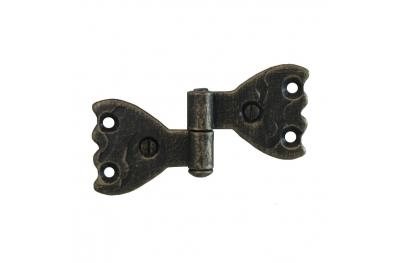3063 Wrought Iron Double Hinge for Furniture Lorenz Ferart