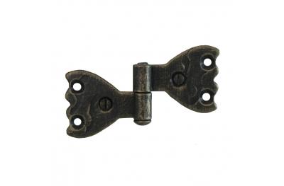 3063 Wrought Iron Double Hinge for Furniture Lorenz Ferart