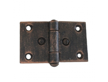 3073 Wrought Iron Double Hinge for Furniture Lorenz Ferart