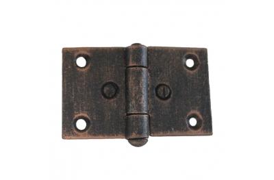 3073 Wrought Iron Double Hinge for Furniture Lorenz Ferart