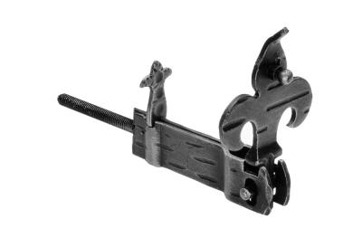 315/V Shutter holder Giglio 90x30x18mm Galbusera Wrought Iron