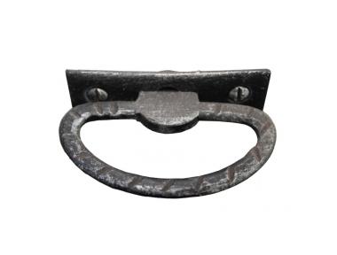 3179 Rustic Style Wrought Iron Furniture Handle Lorenz Ferart