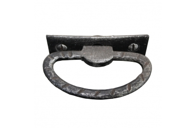 3179 Rustic Style Wrought Iron Furniture Handle Lorenz Ferart