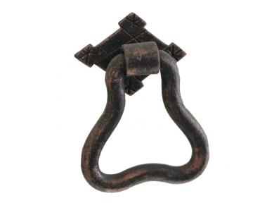3209 Irregular Wrought Iron Furniture Handle Lorenz Ferart