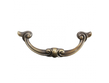 3274 Baroque with Volutes Wrought Iron Furniture Handle Lorenz Ferart