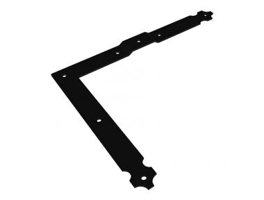 35 CiFALL L Shape Adjustable Hinge Aluminium Hardware For Shutters