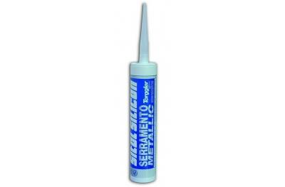 Grey Serramento Metallic Silicone Sitol Silicon Torggler 310ml