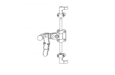 Tit OJ Handle Standard 1-2 Ante Griffe h = 15mm Without Auction