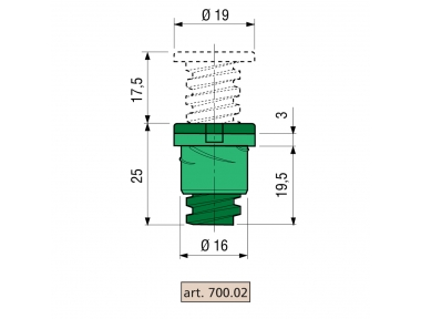 Spacer Proni Laying Window Series 800