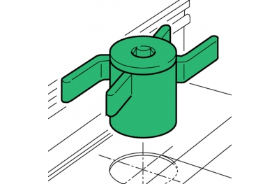 Spacer Proni Rapid-Block Series 50 Installation Window