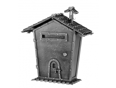 440 Galbusera Wall Mail Box Artistic Wrought Iron