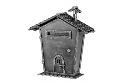 440 Galbusera Wall Mail Box Artistic Wrought Iron