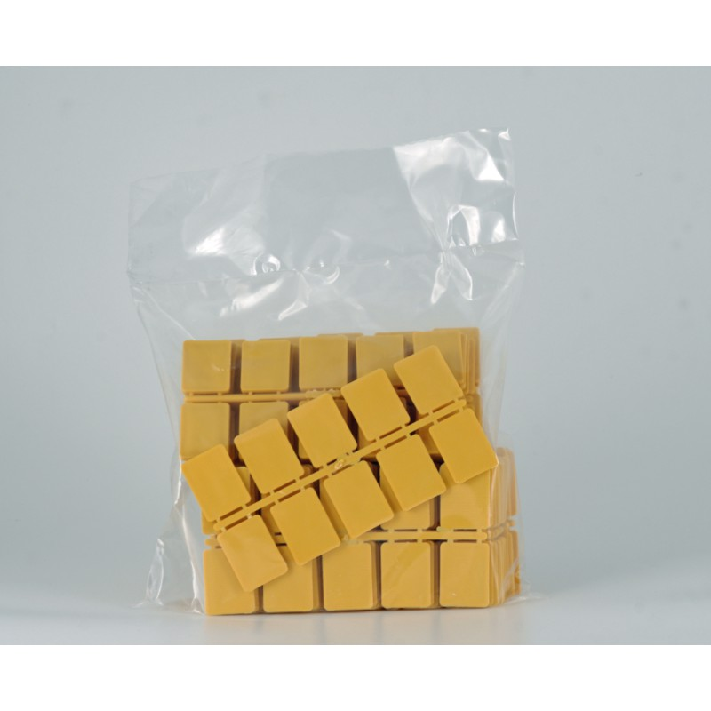 Glass thickness 3mm 40X30 EP Vit; Bag of 1 Kg