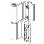 Flash hinge Base EC Art.00128U Giesse; European Chamber for Aluminium