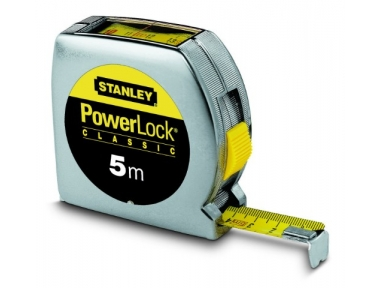 Stanley Powerlock Tape Tool Direct Reading 5m