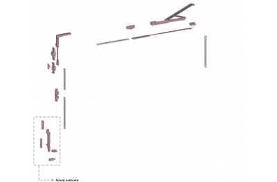 Ribantatre Savio Base Group R Arm Pivot Short Vertical