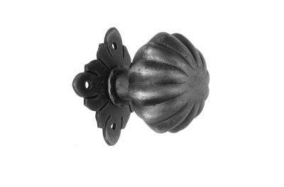 63 Ø65 Door Knob Artistic Wrought Iron