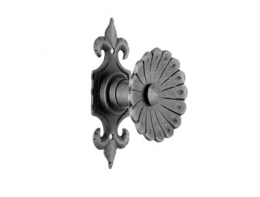 64 Door Knob Ø60 Diameter Artistic Wrought Iron