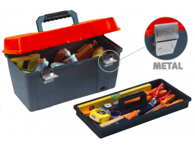 651  Plano Toolbox with Metal Closures Contractor Line Tool Carrying System