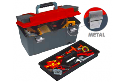 652 Plano Toolbox with Metal Closures Contractor Line Tool Carrying System