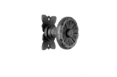 65 Door Knob Ø55 Diameter Artistic Wrought Iron