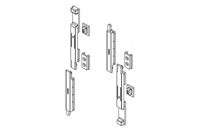 Catenacci Giap for Windows Giesse Series R40 Plus Silver Couple