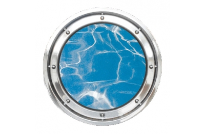 Porthole Underwater Stainless Steel Round of Masonry Colombo 316