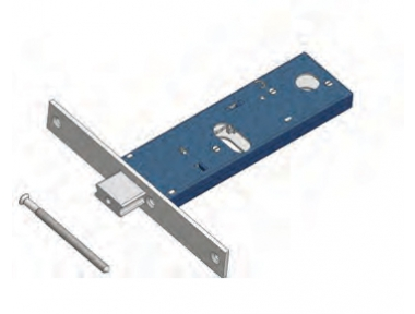 Adjustable bolt lock for Omec range Mechanics Aluminium